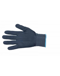 Nylon Glove With Black Latex Palm - MEDIUM