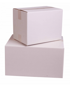 White Cardboard Cartons - 430 x 305 x 230mm A3